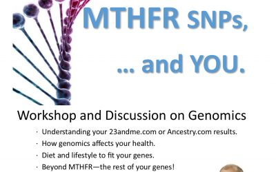 Methylation, MTHFR SNPs and you